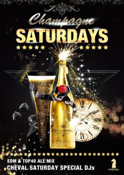 RED 「Champagne SATURDAY」