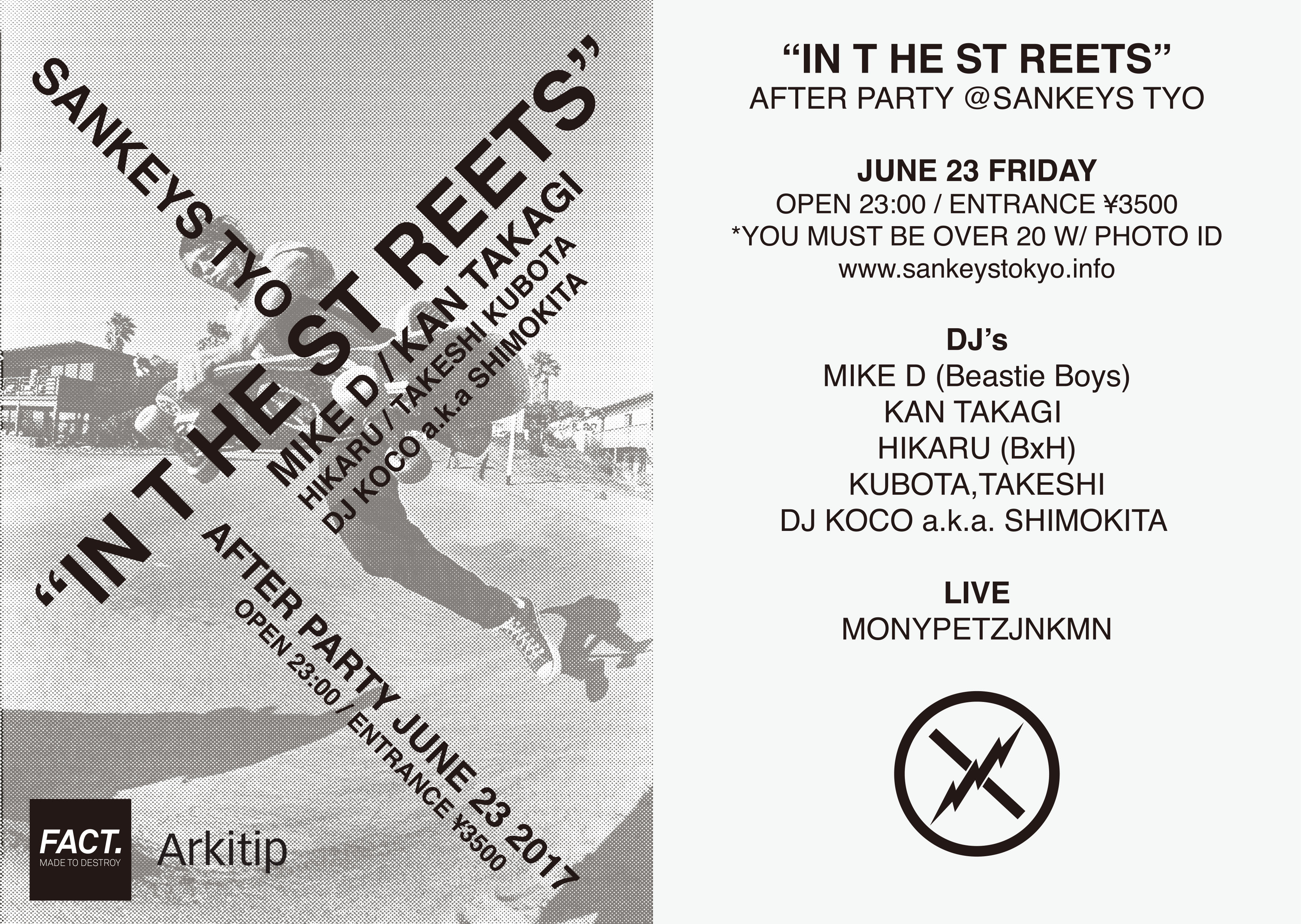 "FACT. & Arkitip ""IN THE STREETS"" After Party"