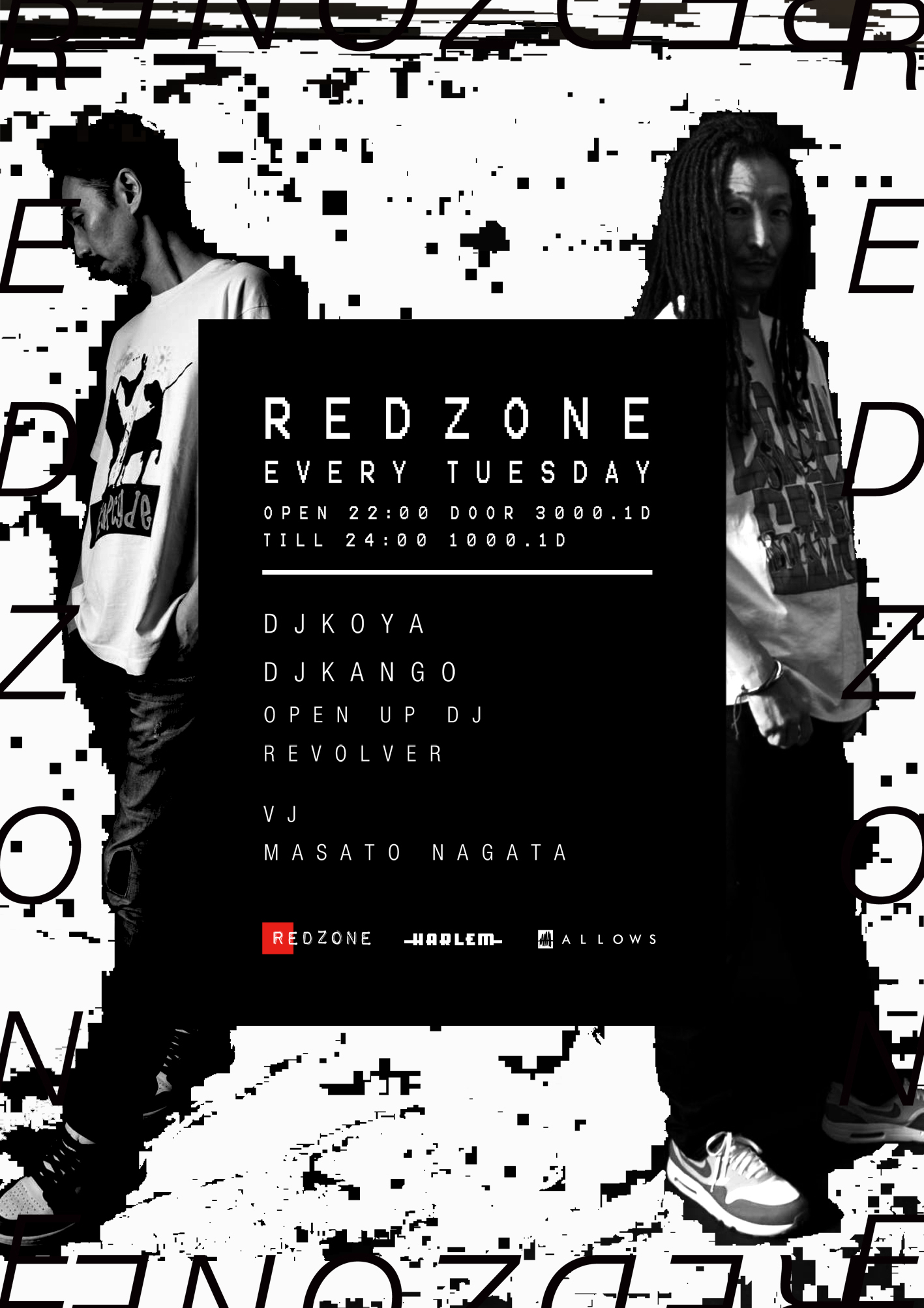 RED ZONE supported by GENRE BNDR