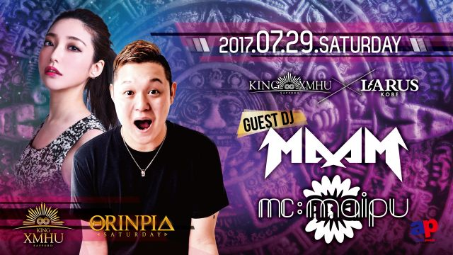 Special Guest: MAAM・ MC maipu / NIGHT SAFARI / ORINPIA