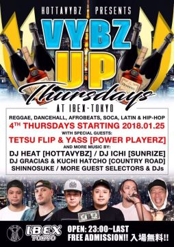 HOTTAVYBZ PRESENTS  VIBZ UP Thursdays