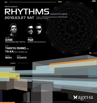 Mother presents「RHYTHMS」 supported by ageHa