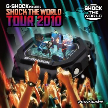 G-SHOCK SHOCK THE WORLD TOUR 2010 in NAGOYA