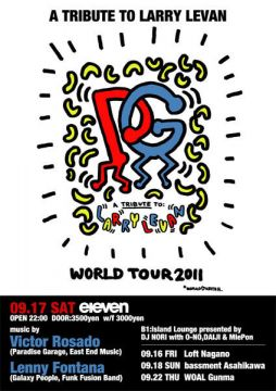 A Tribute to Larry Levan World Tour 2011