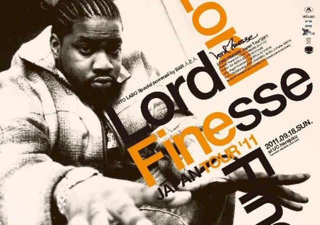 LORD FINESSE Japan Tour'2011