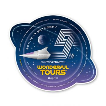 "ageHa 9th ANNIVERSARY ""Wonderful Tours"""