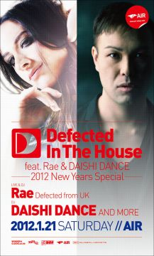 Defected In The House feat. Rae & DAISHI DANCE