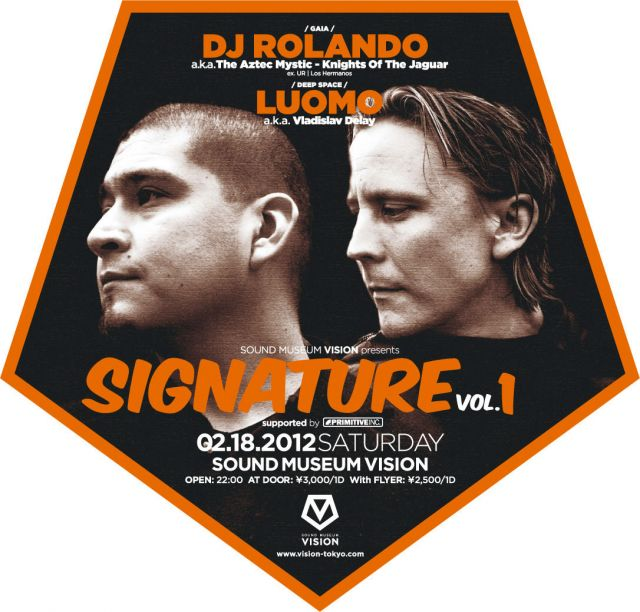 SOUND MUSEUM VISION presents SIGNATURE vol.1