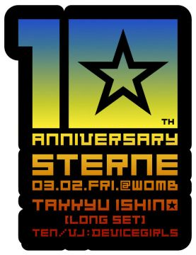 STERNE 10th ANNIVERSARY