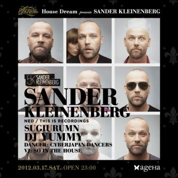 House Dream presents SANDER KLEINENBERG
