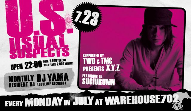 U.S. - Usual Suspects - supported by TWO & TMC presents X.Y.Z