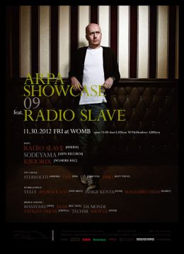 ARPA SHOWCASE 09 FEAT. RADIO SLAVE