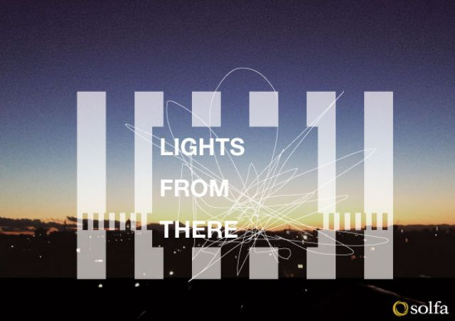 LIGHTS FROM THERE  -solfa 2012-2013 Countdown Party-