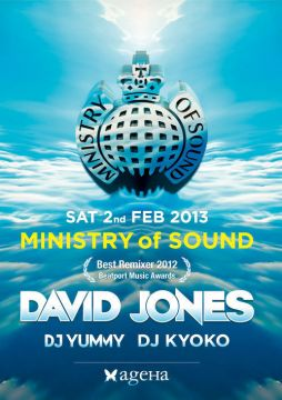 MINISTRY of SOUND feat. DAVID JONES