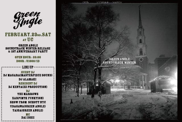 Green Angle 1st Anniversary&Green Angle Soundtrack Winter Release Party