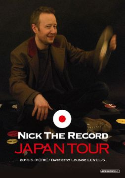 Nick The Record Japan tour in Gunma