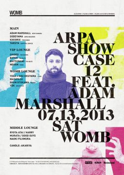 ARPA SHOWCASE 12 feat. ADAM MARSHALL