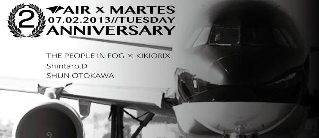 MARTES 2nd ANNIVERSARY