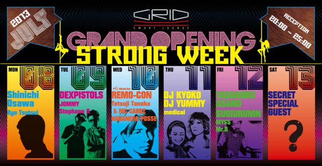 GRID Grand Open Special Strong Week!!!!!!!!!