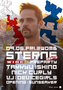 STERNE MEETS WIRE'13 PREPARTY