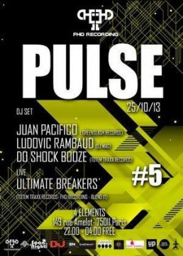 Pulse #5 at 4 Elements