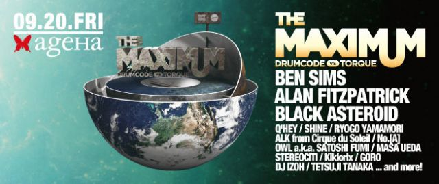 THE MAXIMUM - DRUMCODE vs. TORQUE -