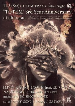 TOTEM::3rd Year Anniversary:: at clubasia