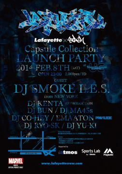 Lafayette × STASH Capsule Collection Launch Party