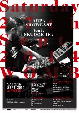 ARPA SHOWCASE 17 feat. SKUDGE -Live-