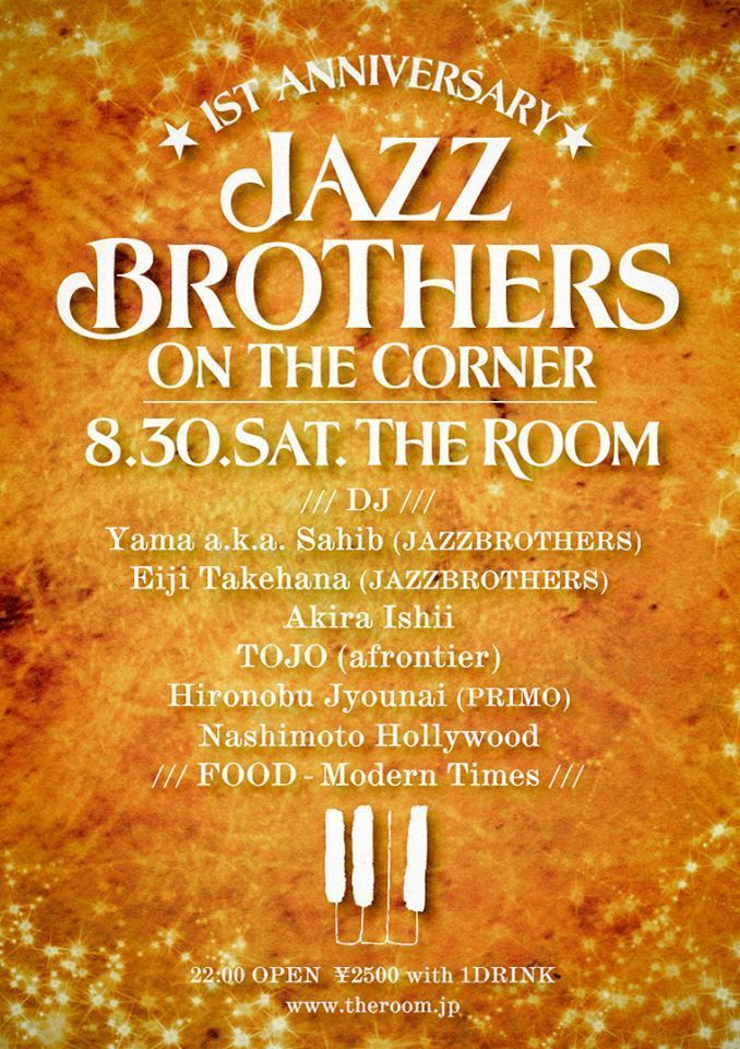 JAZZ BROTHERS ON THE CORNER -1st Anniversary-