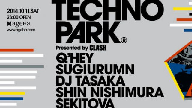 "THE WONDERLAND ""CLASH presents TECHNOPARK"""
