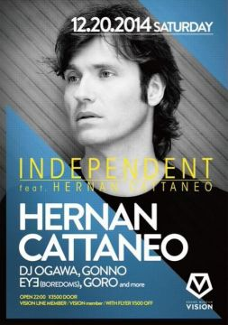 INDEPENDENT feat. HERNAN CATTANEO