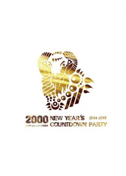 """2000"" UNIT/SALOON/UNICE NEW YEAR'S COUNTDOWN PARTY2014-2015"
