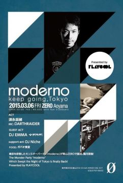 moderno Presented by PLAYCOOL ~keep going, Tokyo~