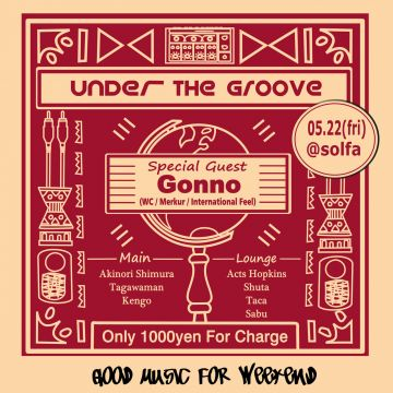 Under the Groove feat. Gonno