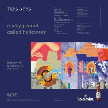 TRESVIBES PRESENTS A PLAYGROUND CALLED HALLOWEEN