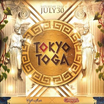 "ageHa SATURDAY TURNED ON presents ""TOKYO TOGA!"""