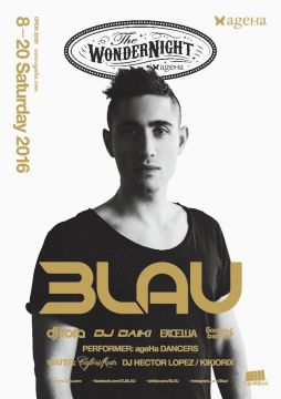 "ageHa SATURDAY MOVE NIGHT_ presents ""The WonderNight"" feat.3LAU"