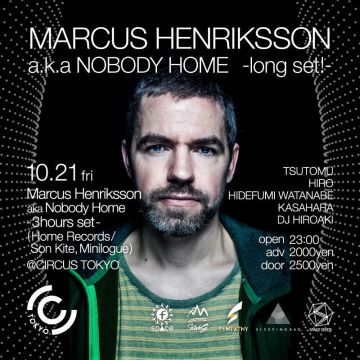 MARCUS HENRIKSSON AKA NOBODY HOME long set!