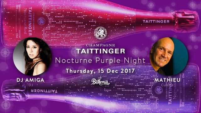 "Taittinger ""Purple Night"""