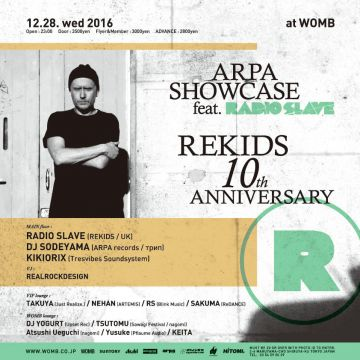 ARPA SHOWCASE feat. REKIDS 10th ANNIVERSARY