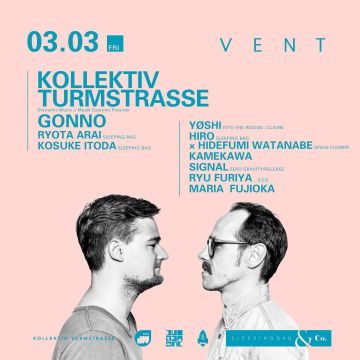 Kollektiv Turmstrasse presented by SLEEPING BAG & Co.