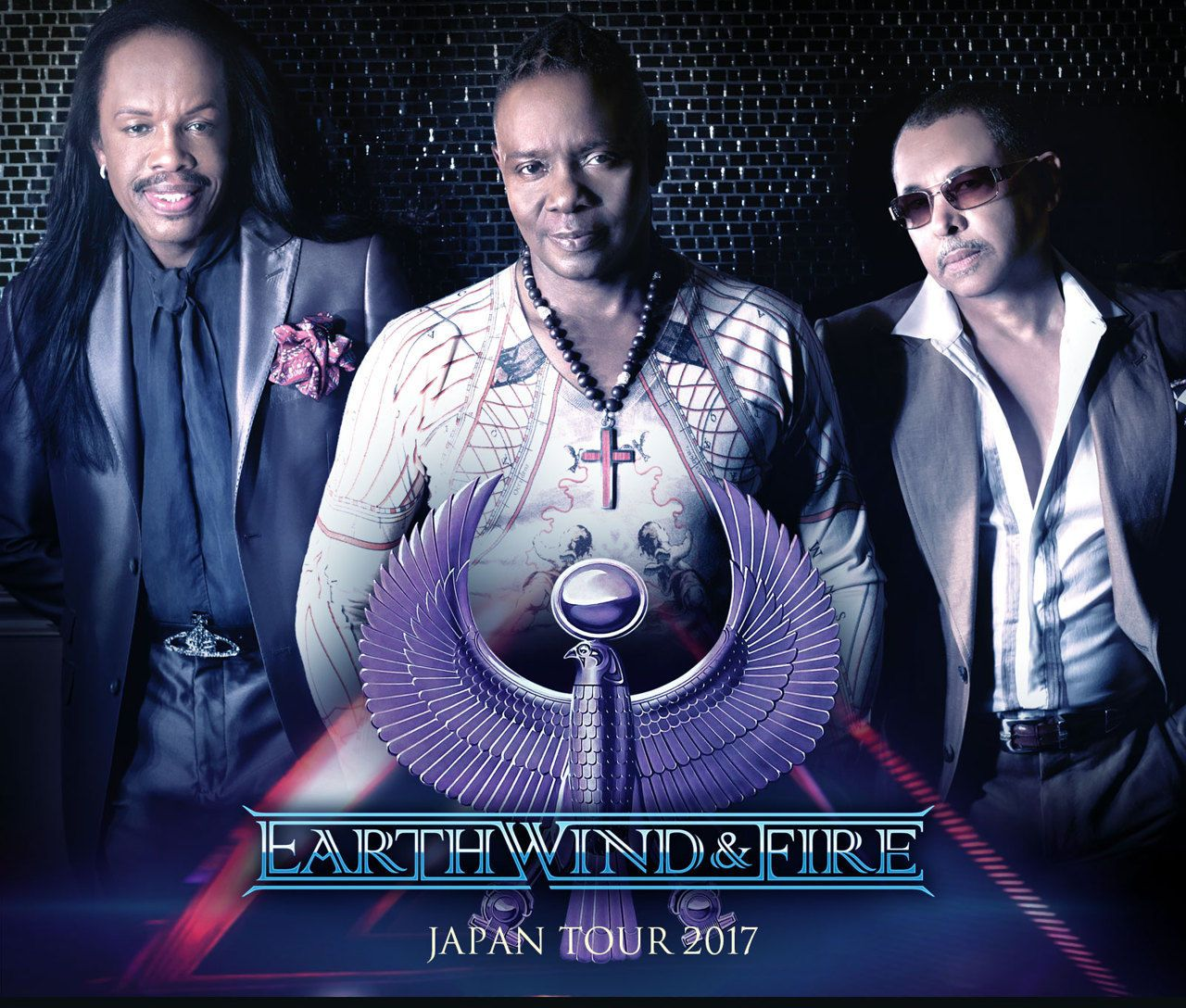 EARTH WIND & FIRE JAPAN TOUR 2017