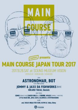 MAIN COURSE JAPAN TOUR 2017