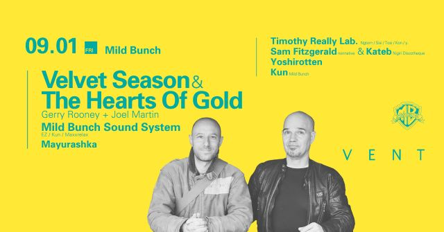 Velvet Season & the Hearts of Gold presented by Mild Bunch