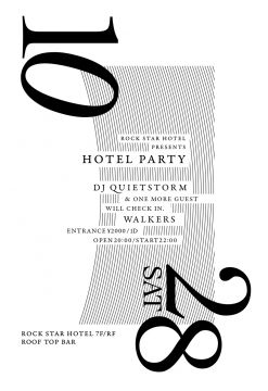 Rock Star Hotel Presents [ HOTEL PARTY ]