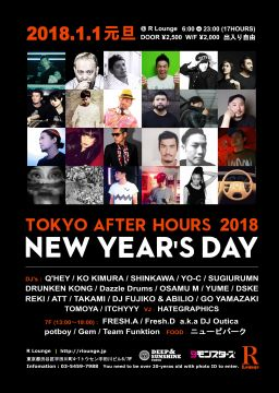 TOKYO AFTER HOURS 2018 -New Year's Day-
