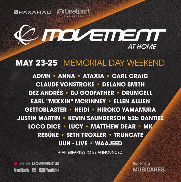 [Live Streaming] Movement At Home