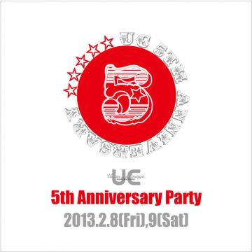 """Ucess the lounge""が5周年"