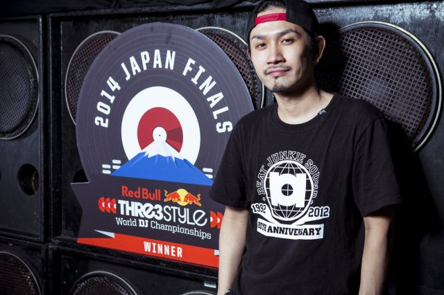 DJ RENがRed Bull Thre3Style Japan Finalを制し、世界大会へ出場決定